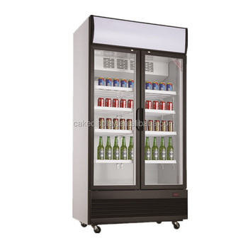 2 Glass Door Soft Drink Display Fridge Second Hand Buy Glass Door