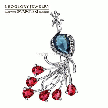 High Quality Neoglory Crystal Brooch Factory Wholesale Made With Swarovski  Elements a5bff3cd1