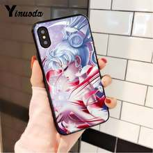 Чехол для телефона Yinuoda Sailor Moon aestic pretty anime girl для iPhone 5 5Sx 6 7 7plus 8 8Plus X XS MAX XR 10 11 11pro 11promax(Китай)