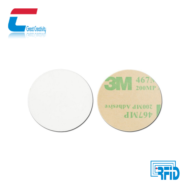 NFC 15MM Coin Sticker / Small RFID Round Tag