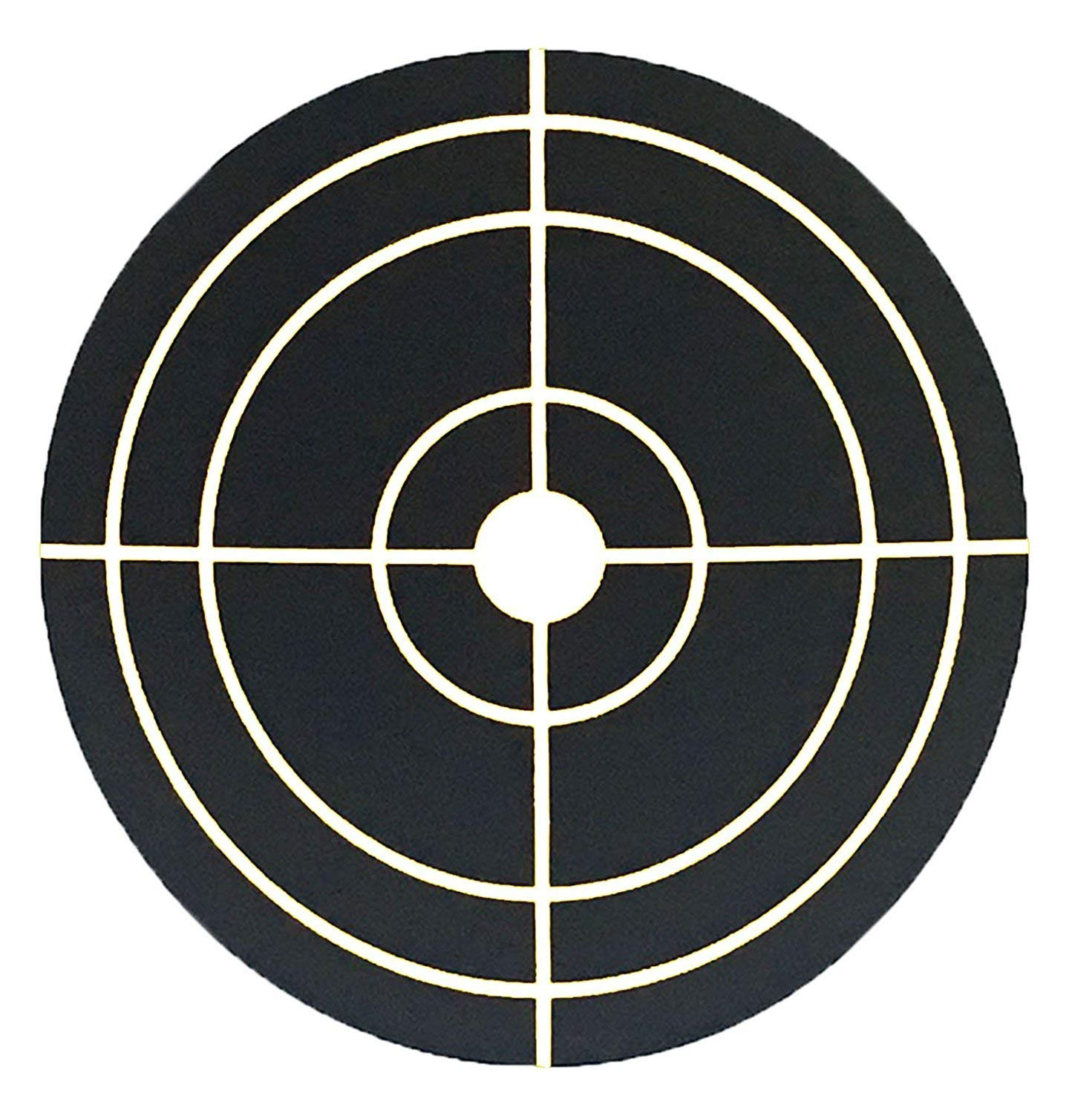 250 Targets Per Roll Besttile 3 Inch Fluorescent Green Self-Adhesive Target Stickers for Shooting