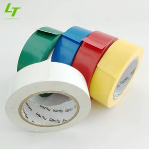 cinta de aislar plastico A grade pvc tape roll pvc tape electrical insulation