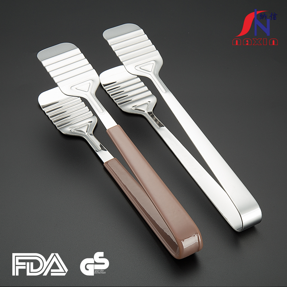 Factory Supplier metal CE / EU customizable kitchen accessories tong