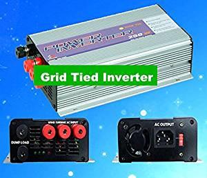 GOWE 250W Solar grid tied inverter 3phase input DC10.8V-30V /DC 22V-60V,output.AC 90V-140V,190V-260V
