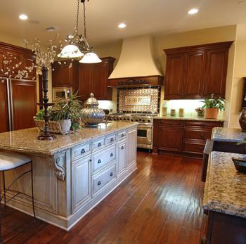 Unique Modern Solid Wood Kitchen Cabinet Design Top Quality Antique