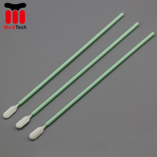 Factory Supply Cleanroom Microfiber <span class=keywords><strong>Polyester</strong></span> Swabs MS761 Vervanging ITW Texwipe TX761MD (adhesive wattenstaafje)