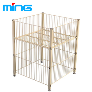 supermarket display wire square dump bin