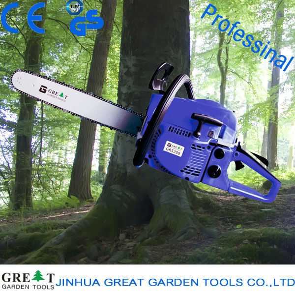 professional and good quality 25cc/38cc/45cc/52cc/58cc/62cc/65cc chainsaws small gas chainsaw