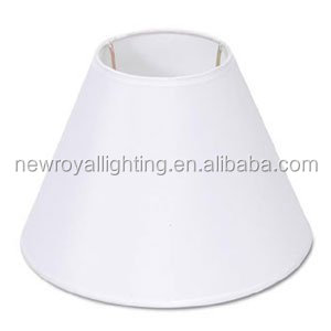 Hotel Lamp Shades/pleated Cloth Covered Plastic Lamp Shade - Ivory ...