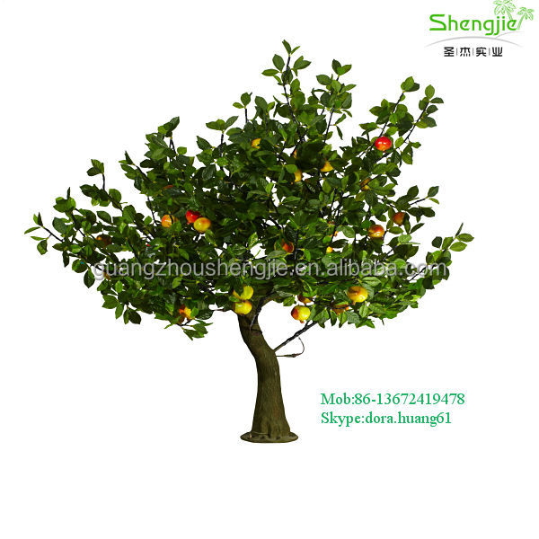 China Make Sjd017 Outdoor Led Trees Lighted Decorative Artificial ...