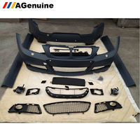 High quality M-tech rear bumper side skirts front bumper conversion body kit for BMW 3 series E90