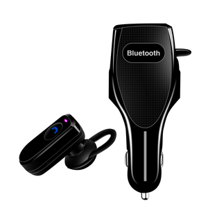 2017 Most popular 2 in 1 Design Mini Wireless Bluetooth V4.0 Earbud Headset Headphone Earphone with Fast Charging Car Charger Bu