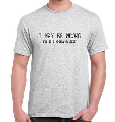 Heren Grappige Uitspraken Slogans T Shirts Ik Kan Verkeerde T Shirt Buy Heren T Shirtgrappige Uitspraken Slogans T Shirtik Kan Verkeerde T Shirt