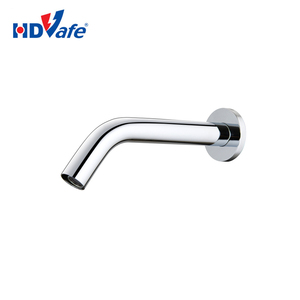 GEEO Faucet Sanitary Ware Optical Fiber Wall Mounted Basin Electric Automatic Sensor Water Tap