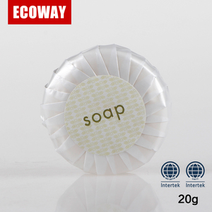 20 gram round hotel soap disposable spa soap for guests