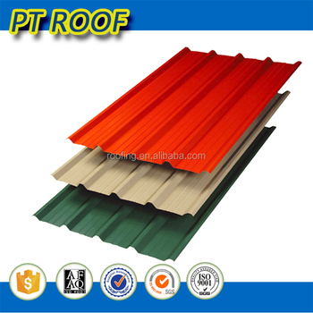20 Years Hot Selling Zinc Color Coated Roofing Sheet Tile