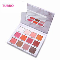 yiwu trade agent New Product Professional Private Your Own Label branded women fashion 12 colors eye shadow single color makeup