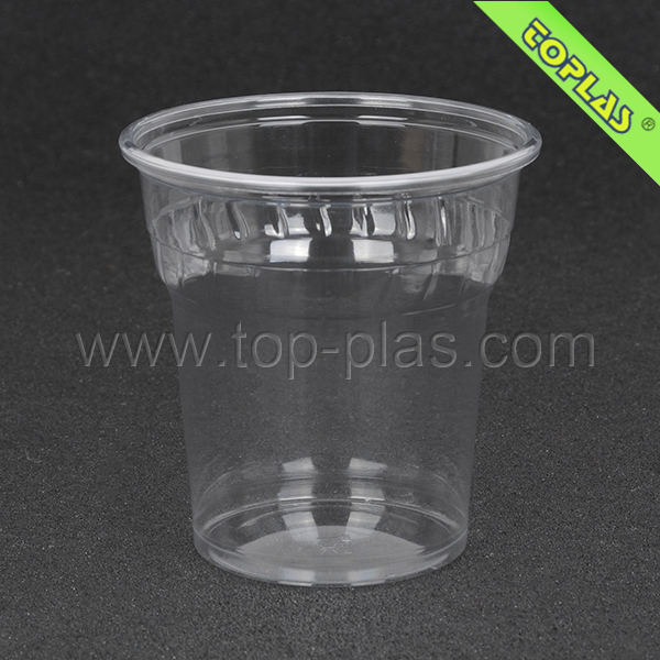 High Quality Full Color in Clear TP-CF250 250ml PET Decorated Cup Disposable Decorated Cup