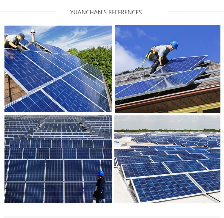 Cheapest Yuanchan 260w solar panel mobile home solar panel system