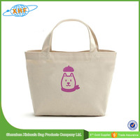 Wholesale Cheap plain canvas tote bags with printing