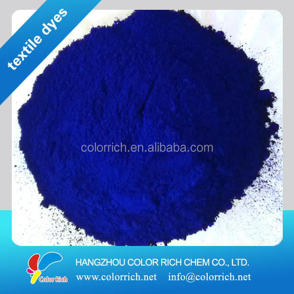 basic organic chemicals Disperse Blue 56 100% disperse dyes for polyester dyestuff textile chemical