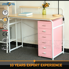 Low price computer table /desk metal study table multi-function Learning table