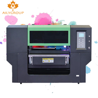 desktop print rotary digital uv spot flatbed digital printer uv6040 for glass bottles mobile phone cover machine