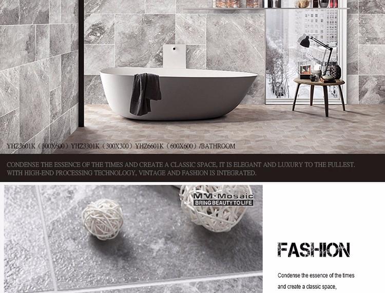 Stile industriale cucina bagno antiscivolo pavimento di piastrelle