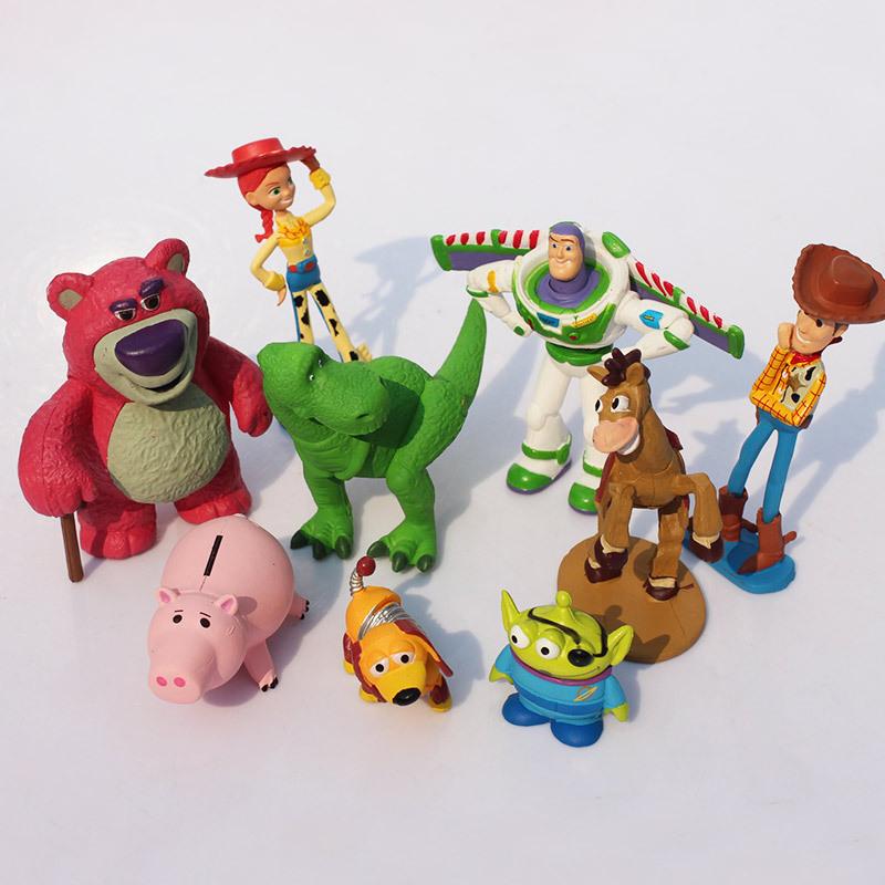 Detalle Comentarios Preguntas sobre Cute 9 unids set 7 8 cm Toy ... 6346a2c2749