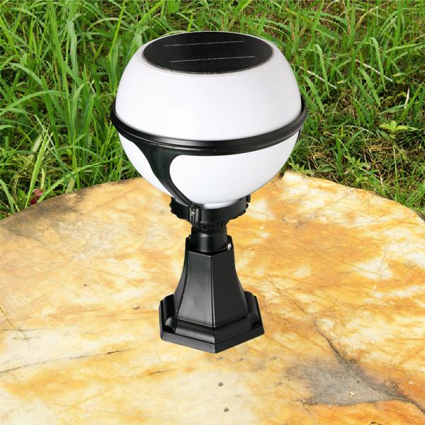 Latest Solar Ed Pillar Lights With Led Garden Lighting Lamp