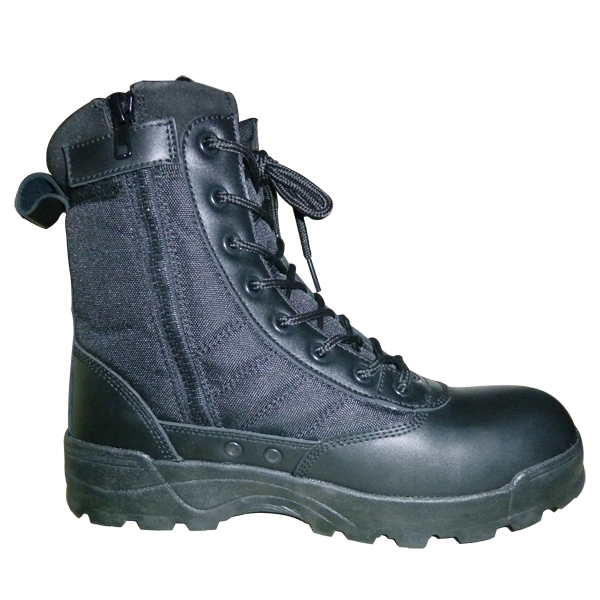 Police tactical boot cow leather wholesale black army liberty jungle boots FT-2119B