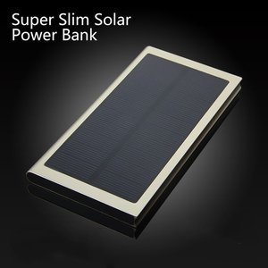 High capacity 20000mah solar power bank fast charging pad waterproof mini portable battery supply best price solar phone bank