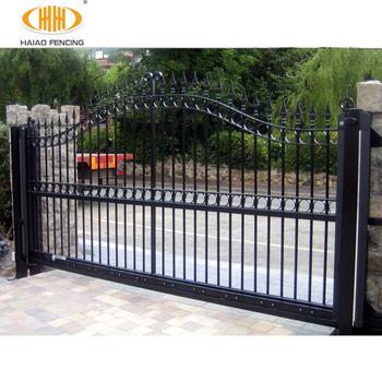 Decorative Wrought Iron Gates Simple