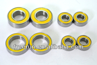 High Performance TEAM LOSI RC CAR LST2 MONSTER TRUCK ceramic bearing kits with different rubber seal color