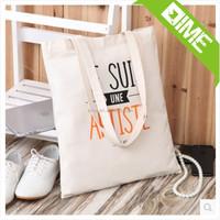 Natural Color Big Cloth Cotton Shopping Bag