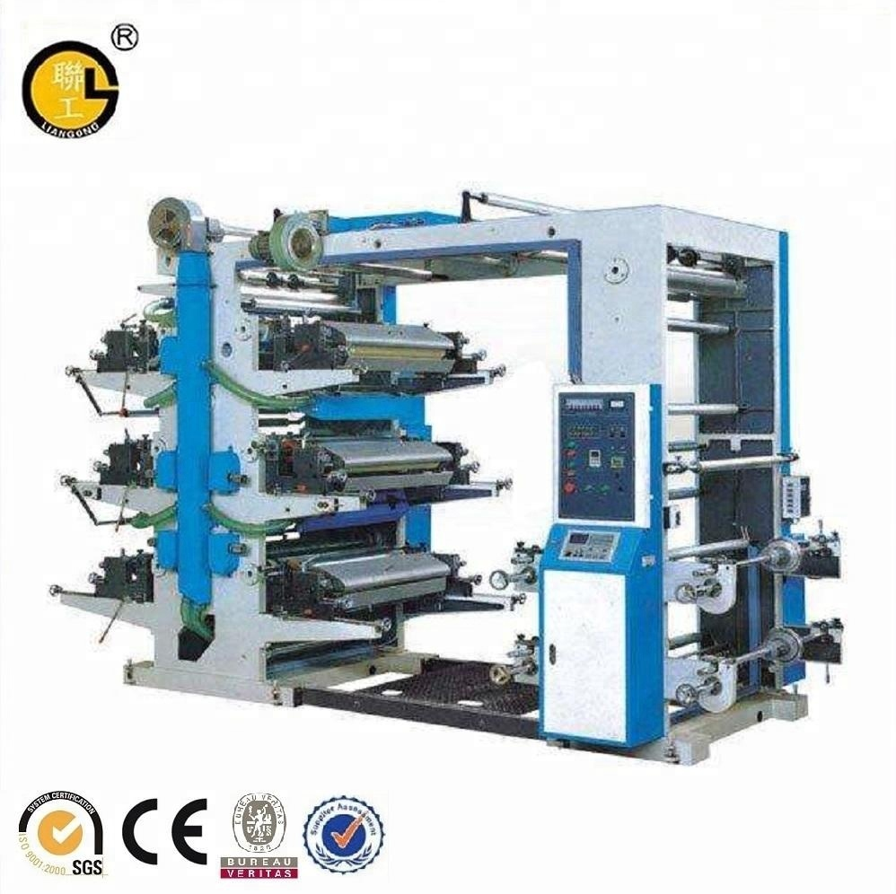 Flexo plastic film drukmachine