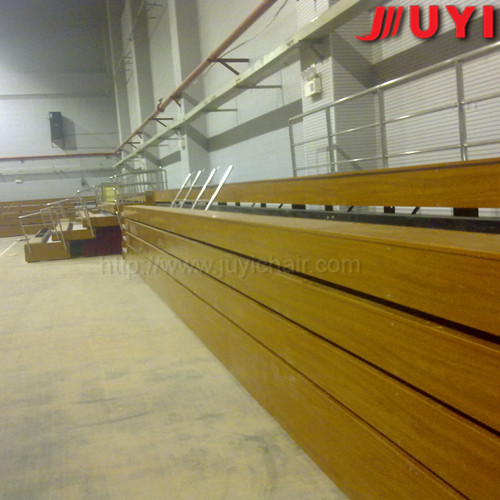 Portable stadium bleacher seat wholesale wooden bleacher JY-705