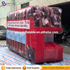 Good price advertising inflatable fire engine car model tent for sale