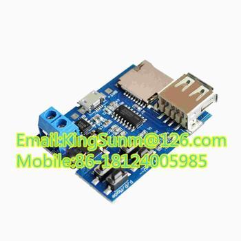5pcs/lot Tf Card U Disk Mp3 Format Decoder Board Module Amplifier ...