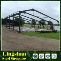 High quality steel structure prefabricated sheds steel roof trusses light plant