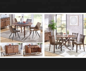 contemporary furniture european american modern fashion wood dining room sets