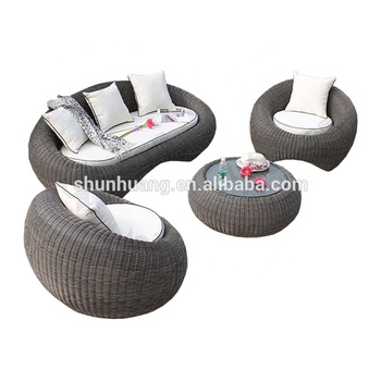 Stupendous Garden Round Rattan Sofa Egg Shape Wicker Sofa Sets 3 Piece Buy Egg Shape Rattan Sofa Garden Sofa Outdoor Furniture Product On Alibaba Com Spiritservingveterans Wood Chair Design Ideas Spiritservingveteransorg