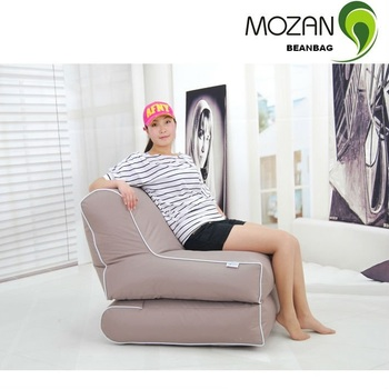 Modern design foldable recline beanbag chairs buy online