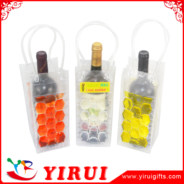 gel ice beer wine cooler hot and cold bottle bag