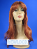 SH0096NEWLOOK Low Price Hot sale Wholesale for Women Party Cosplay Carnival Long Body Wave Sexy wine red Synthetic Wig