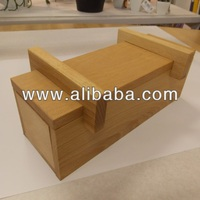 Wooden Soap Mold with cutter
