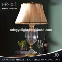 Solid Brass Banker Lamp glass Table Lamp