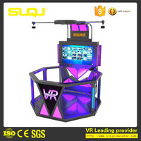 VR walker treadmill vr shooting simulator 9d vr shooting game