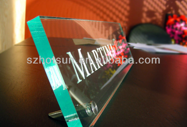 Acrylic Desk Name Plate, Acrylic Desk Name Plate Suppliers and ...