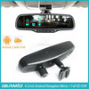 5.0 inch Android 4.0 system rearview mirror gps wireless camera,car rearview mirror camera dvr